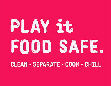 play it food safe logo