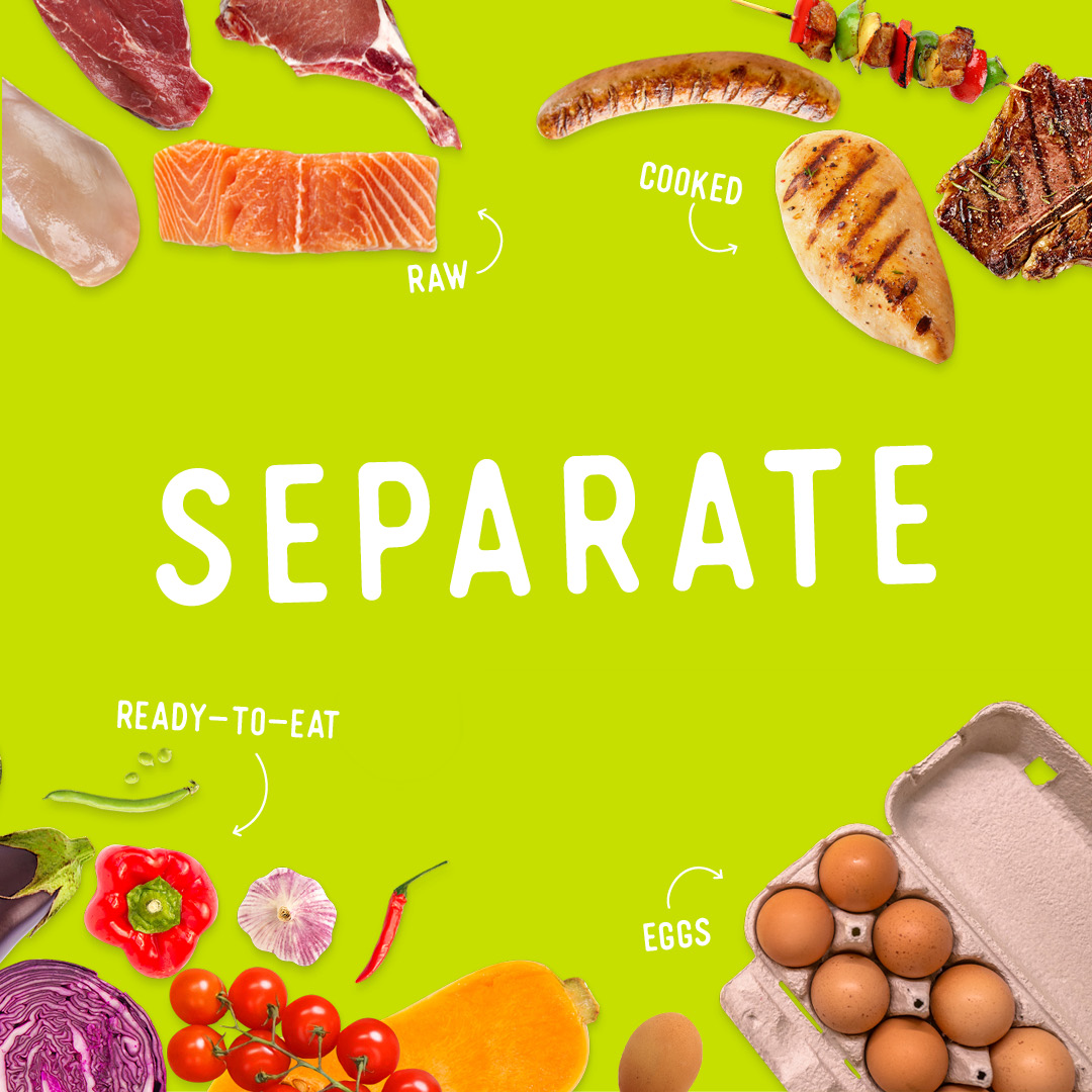 Food safety - separate static