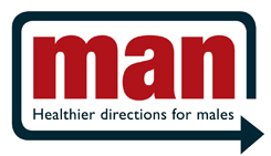 Logo: MAN Health directions for males