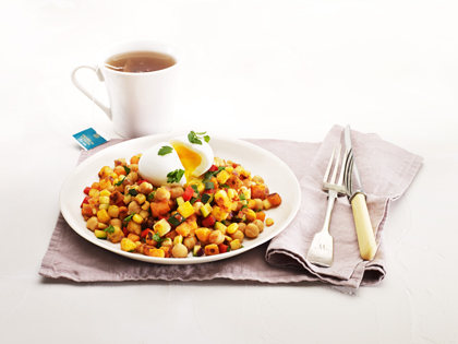 Summer breakfast hash