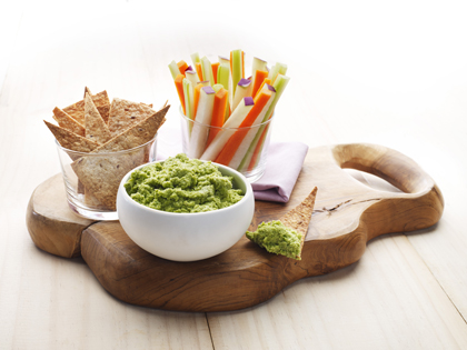 Warm broccoli dip