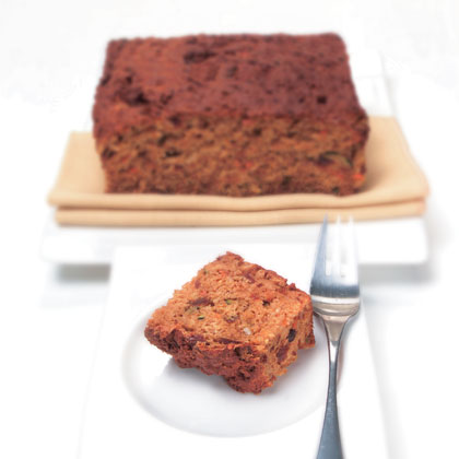 Carrot, Zucchini and date cake