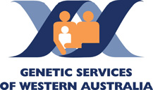 Genetic Services of Western Australia logo