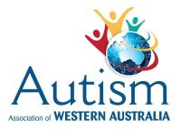 Autism Association of Western Australia logo