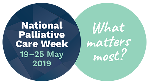 2019 National Palliative Care Week logo