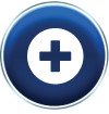 Icon to represent a hospital emergency department
